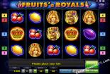 besplatne slotovi Fruits and Royals Novomatic