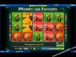 besplatne slotovi Plenty on Twenty Novomatic